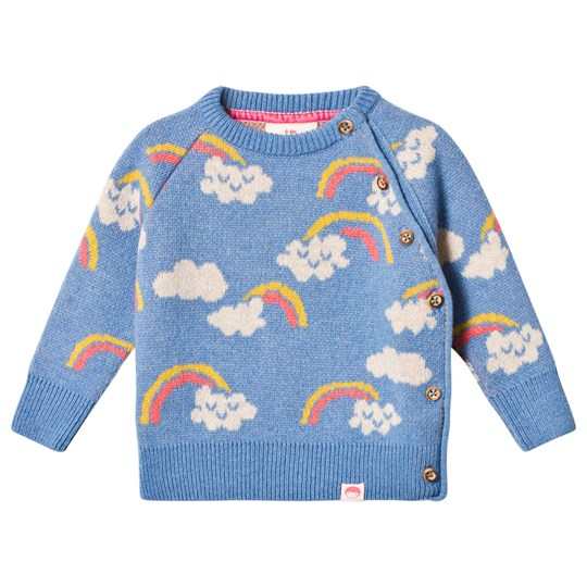 Tootsa MacGinty Kasumi Knitted Sweater Light Blue Clouds Light Blue
