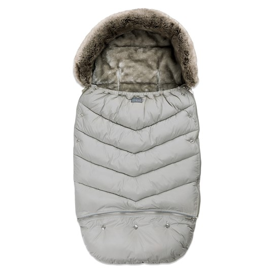 Vinter & Bloom Footmuff Chic Silver Grey Silver Grey