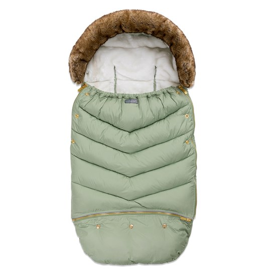 Vinter & Bloom Footmuff Chic Jade Green Jade green