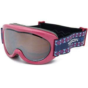 Image of Tenson Dud Ski Goggles Red One Size (1202875)