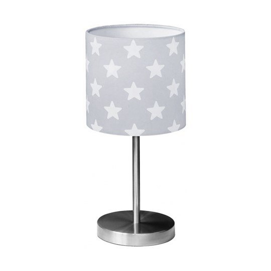 Kids Concept Star Table Lamp Grey Sort