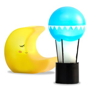 Image of LUNDBY Accessories Lamp Set Moon & Baloon 3+ years (1212432)
