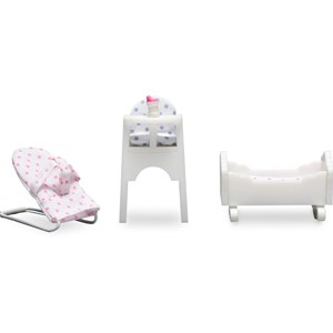 Image of LUNDBY Accessories Småland Baby Furniture Set 3+ years (955528)