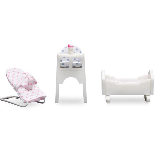 LUNDBY Accessories Småland Baby Furniture Set Multi