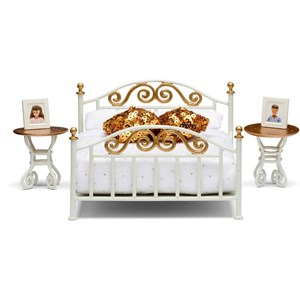 Image of LUNDBY Accessories Brass Bed Set 3 - 10 years (955542)
