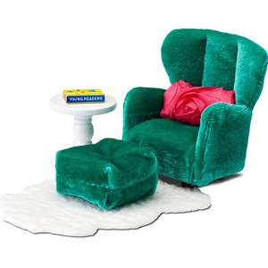 Image of LUNDBY Accessories Armchair and Footstool Set 3+ years (955543)