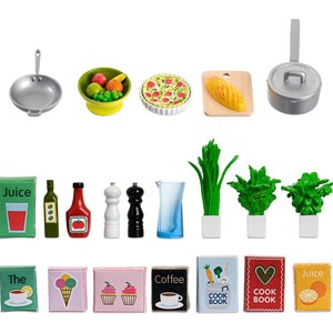 Image of LUNDBY Accessories Småland Kitchen Accessories Set 3 - 10 years (955561)