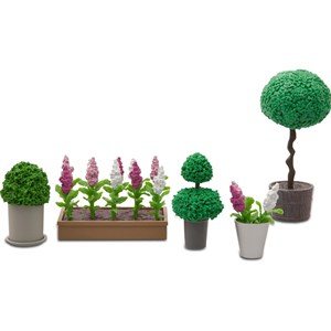 Image of LUNDBY Accessories Flower Set 3+ years (955607)