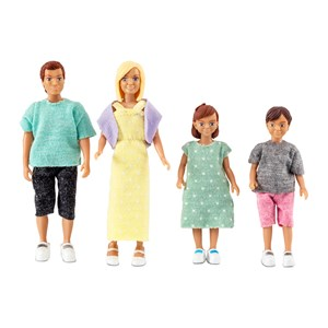 Image of LUNDBY Dolls Lundby Classic Family Dukker 4 - 7 years (997911)