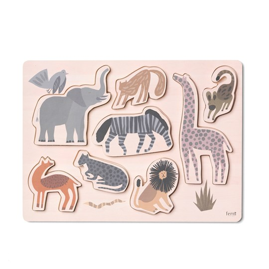 ferm LIVING Safari Puzzle пестрый