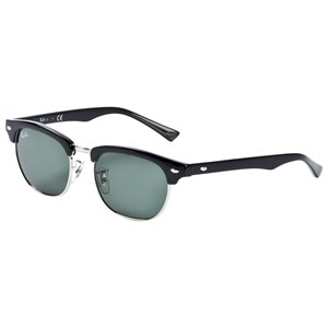 Image of Ray-ban Clubmaster Junior Sunglasses Black/Green Classic (3125254811)