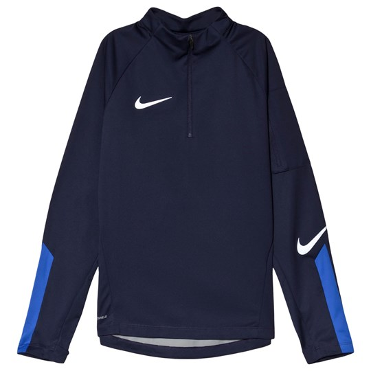 NIKE Navy Shield Squad Drill Top 416