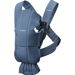 Image of Babybjörn Baby Carrier Mini Indigo/Cotton One Size (1234240)