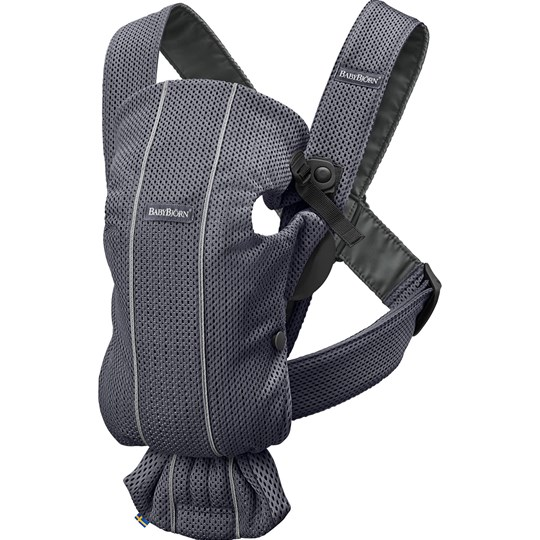 Babybjörn Baby Carrier Mini Anthracite/3D Mesh Antracitgrå 3D Mesh