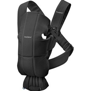 Image of Babybjörn Baby Carrier Mini Black/Cotton One Size (1234238)