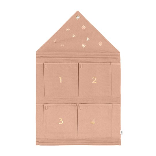 ferm LIVING House Advent Calender - Rose Multi