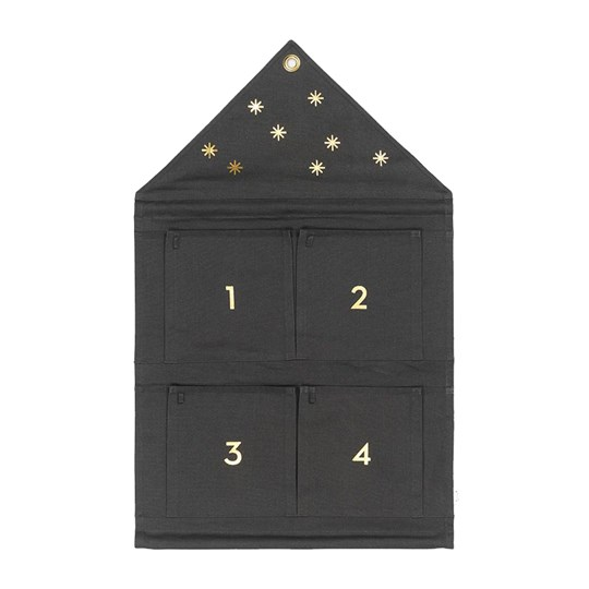 ferm LIVING House Advent Calender - Dark Green dark green
