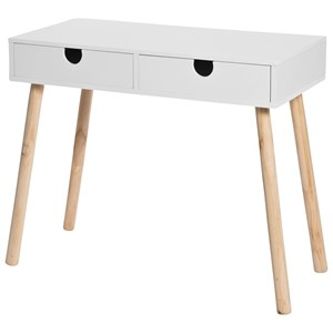 Image of JOX White Desk With Two Drawers One Size (825202)