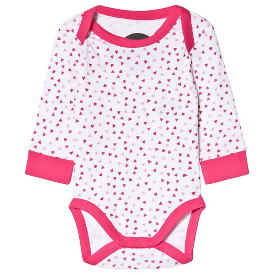 Petit Monster Onesie Pink Triangle Pink
