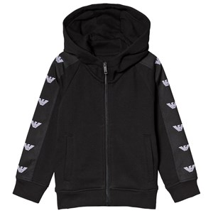 Image of Emporio Armani Black Logo Trim Hoodie 10 years (3125268769)