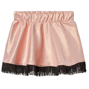Image of BANGBANG Copenhagen Gold Fringe Skirt 2-3 years (3125265269)
