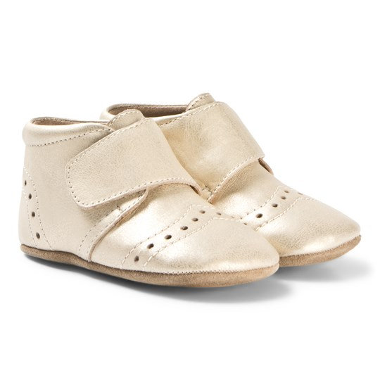 Bisgaard Home Shoes Petit Gold Gold