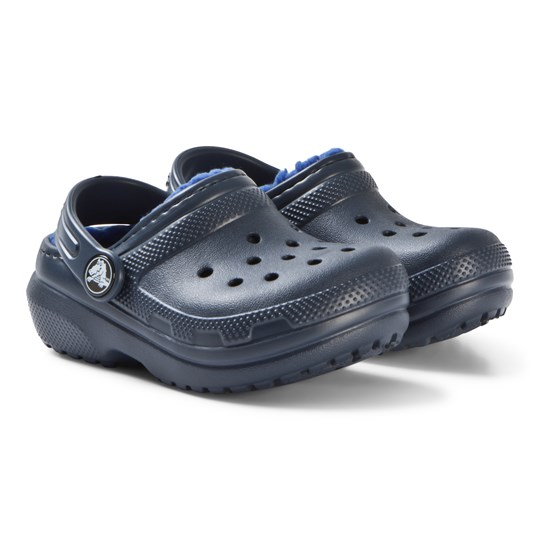 Crocs Classic Lined Clog K Navy/Cerulean Blue navy/cerulean blue