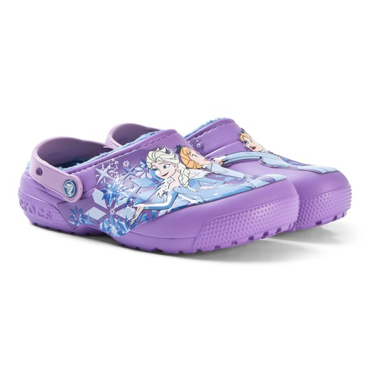 Crocs Crocs Lined Frozen Clog K Purple Purple