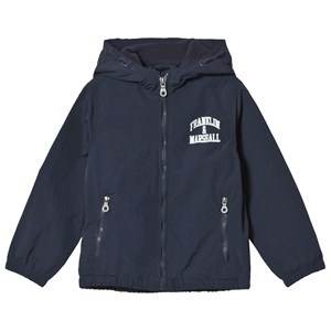 Image of Franklin & Marshall Navy Fleece Windcheater Jacket 10-11 år (1146418)