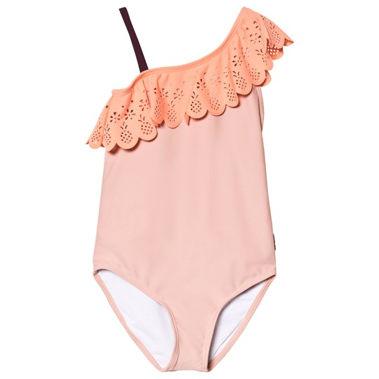 Molo Net Swimsuit Rose Sand Rose Sand