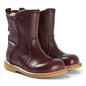 Image of Angulus Burgundy Boots 34 (UK 2) (3125284601)