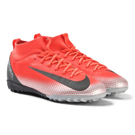 9aa18158 NIKE - Red CR7 Superfly 6 Academy Turf Soccer Boots - Babyshop.no