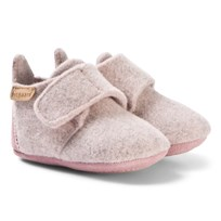 885839452088 Bisgaard Home Shoe - Wool Star Blush Blush