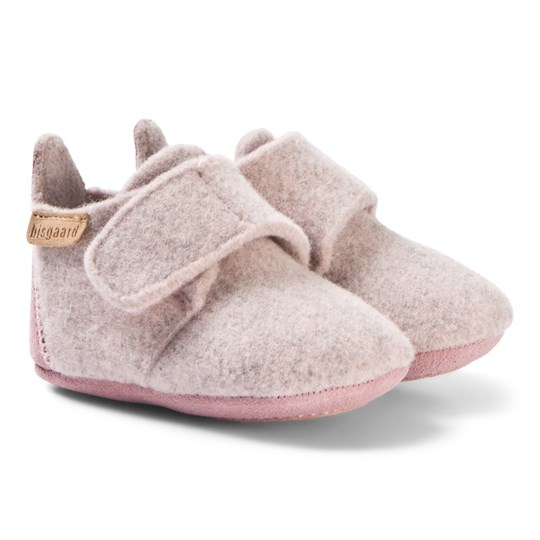 8dbc7819aad Bisgaard - Wool Home Shoes Star Blush - Babyshop.com