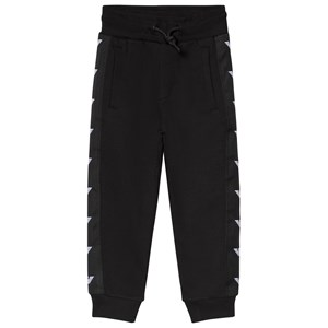 Image of Emporio Armani Black Eagle Logo Trim Sweatpants 4 years (3125268771)