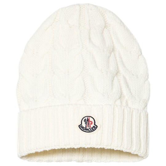 Moncler White Beretto Hat 034