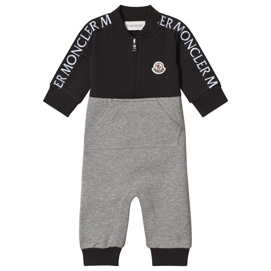 Moncler Navy and Grey One-Piece 986