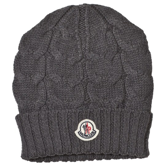 Moncler Grey Logo Hat 998