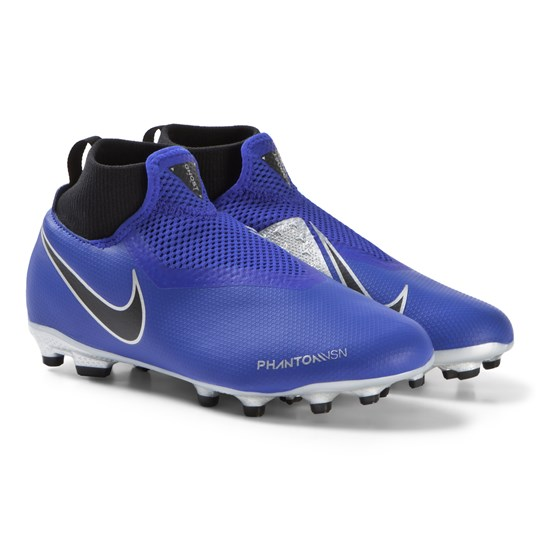 NIKE Blue Phantom Academy Dynamic Fit Multi Ground Football Boots 400
