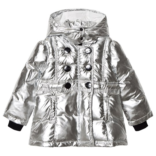 Livly Ivy Puffer Coat Silver Silver