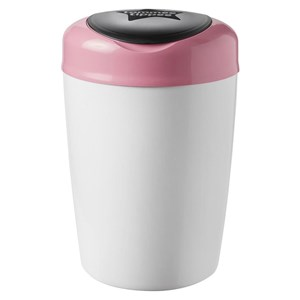 Image of Tommee Tippee Simplee Sangenic Diaper Disposal Pink/White (3125292911)