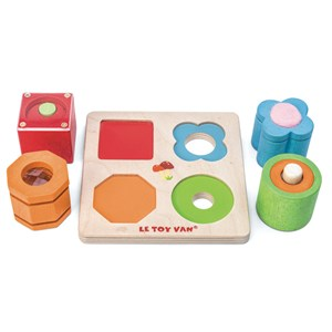 Image of Le Toy Van Petilou® 4-Piece Sensory Tray Set 12 - 24 months (3125262835)