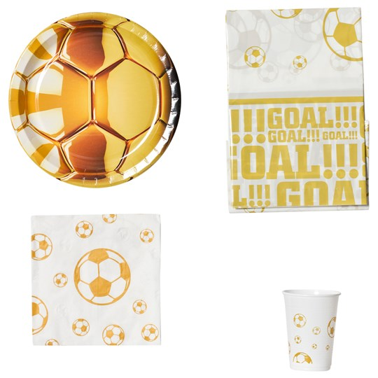Decorata Party Soccer Gold Party Pack Gold