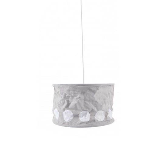 Kids Concept Dot Lampshade Grey Blue