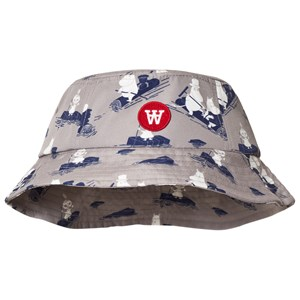 Image of Wood Wood Val Bucket Hat Grey 1-4 Years (3125289667)