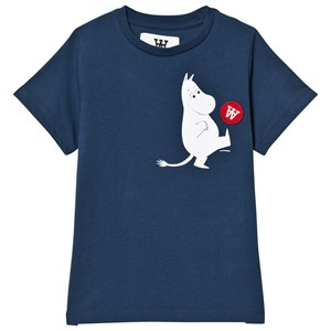 Image of Wood Wood Ola T-Shirt Navy 1-2 år (3125289669)