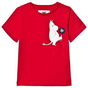 Image of Wood Wood Ola T-Shirt Red 1-2 år (3125289679)