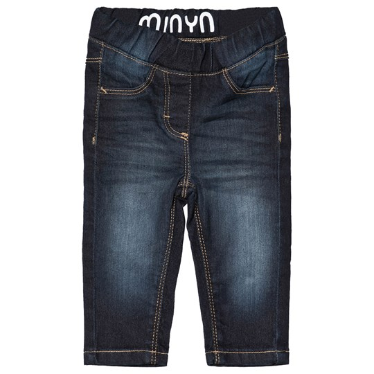 Minymo Malou Jeans Dark Wash Dark Blue Denim