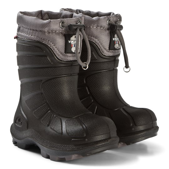 Viking Boots Extreme Black/Grey Black