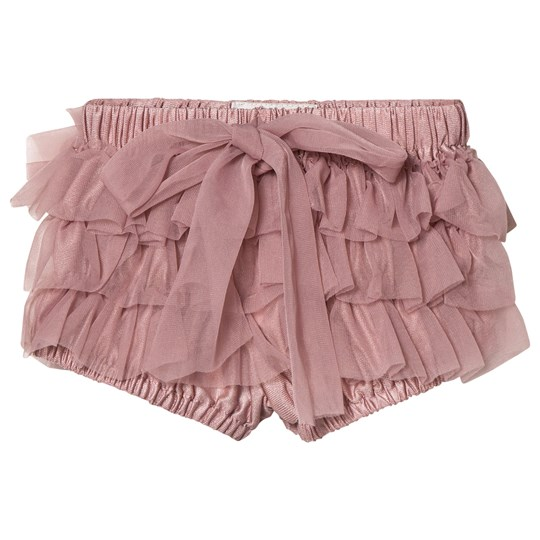 DOLLY by Le Petit Tom Frilly Bloomers Mauve MAUVE